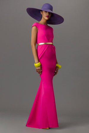 GRETA CONSTANTINE Kigali Dress Gown. Robe longue