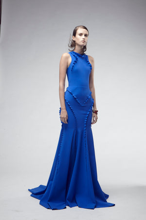GRETA CONSTANTINE Cameron Dress Gown. Robe longue