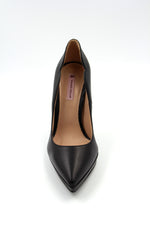 Simona Leather 795 Platform Pump. Talon Haut en Cuir