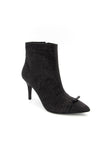 Paris Glitter Heeled Boot with Bow Detail Boutillon