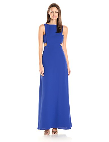 JILL JILL STUART Side Cutout Gown Blue. Robe longue en blue