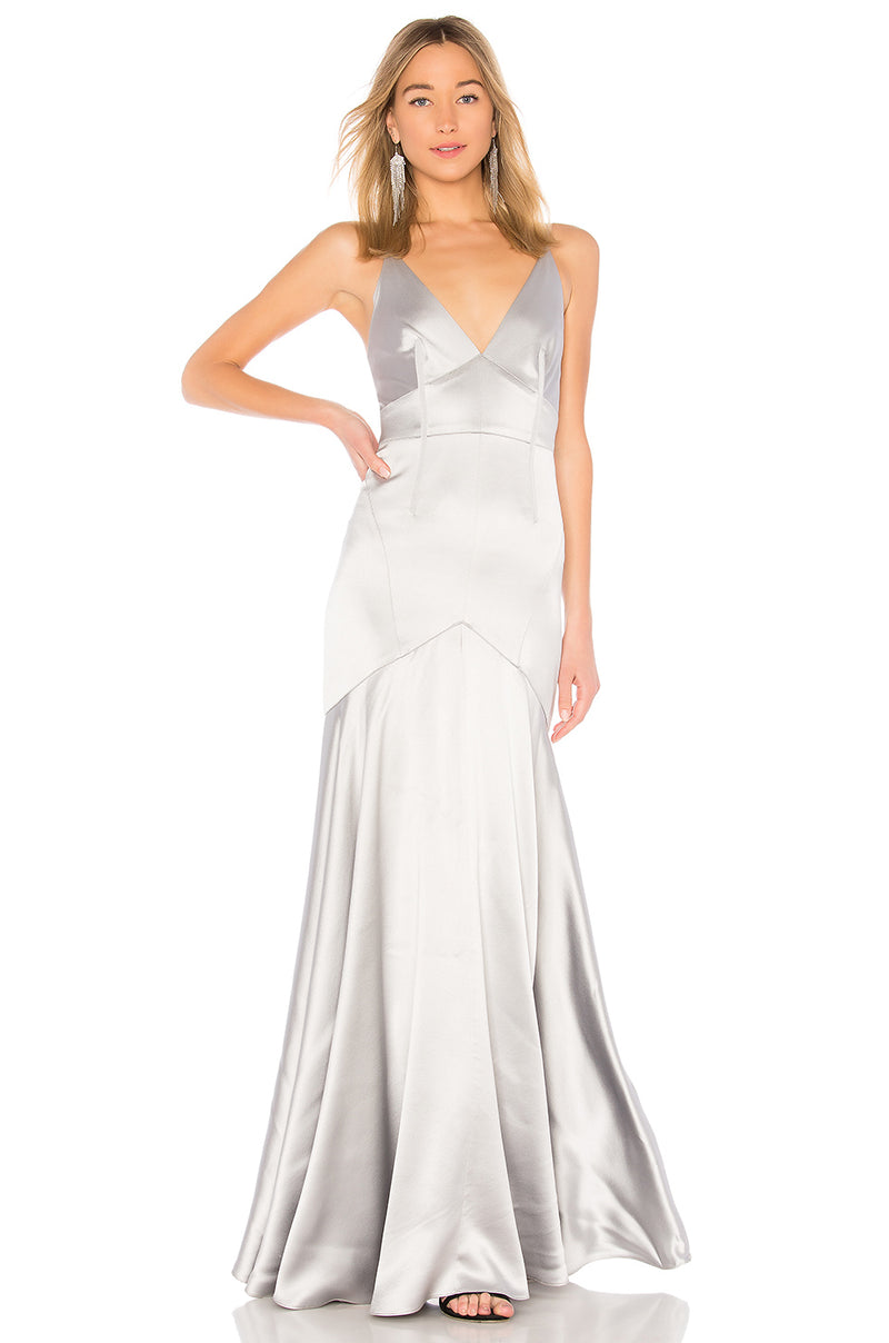 Maid of honour designer dress gown. Fille d'honour robe designer