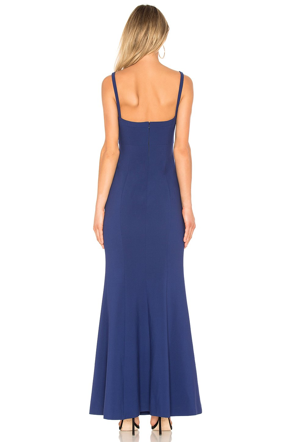 23ba3a40901 Alameda Gown Navy Blue. Robe longue blue marine – Tres Chic Styling