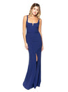 LIKELY Constance Gown Royal Blue Robe longue en blue royal