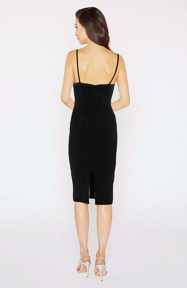 Balcott Spaghetti Straps Sweet Heart Neck Cocktail Dress