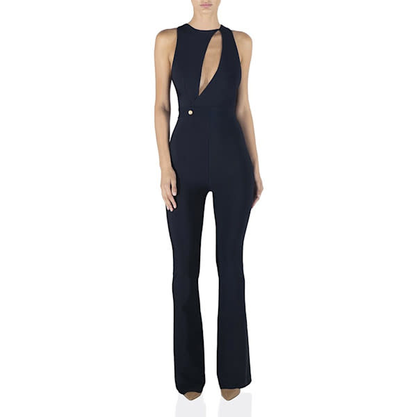MISHA COLLECTION Alberta Bandage Jumpsuit Combinaison