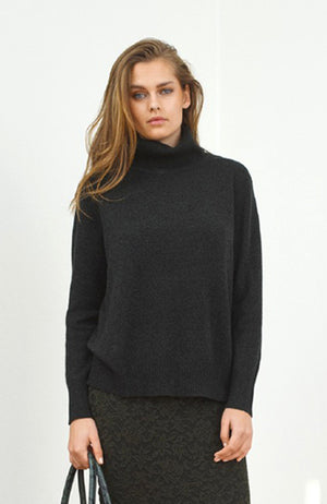 Wide Turtle Neck Sweater. Pull à col roulé
