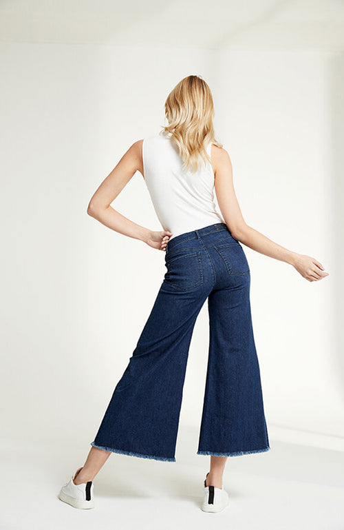 Raffaello Rossi Mina Wide Leg Jean Denim Pants