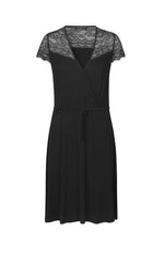 Robe Rosemunde Berlin Dress Robe Short Sleeve with Lace