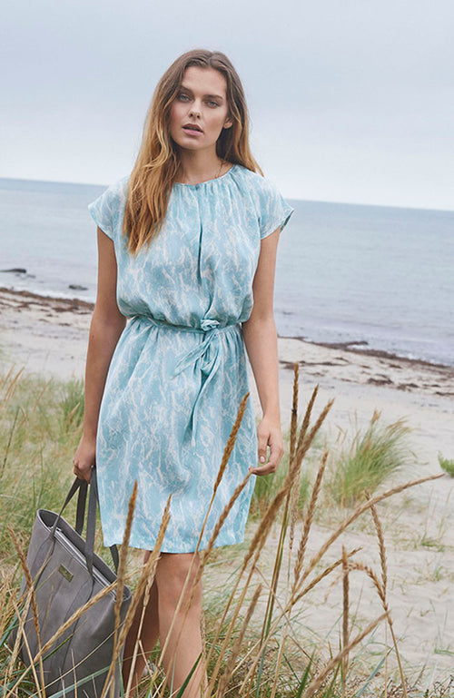 Robe Rosemunde Lilly Cap Sleeve Dress with Belt Mint