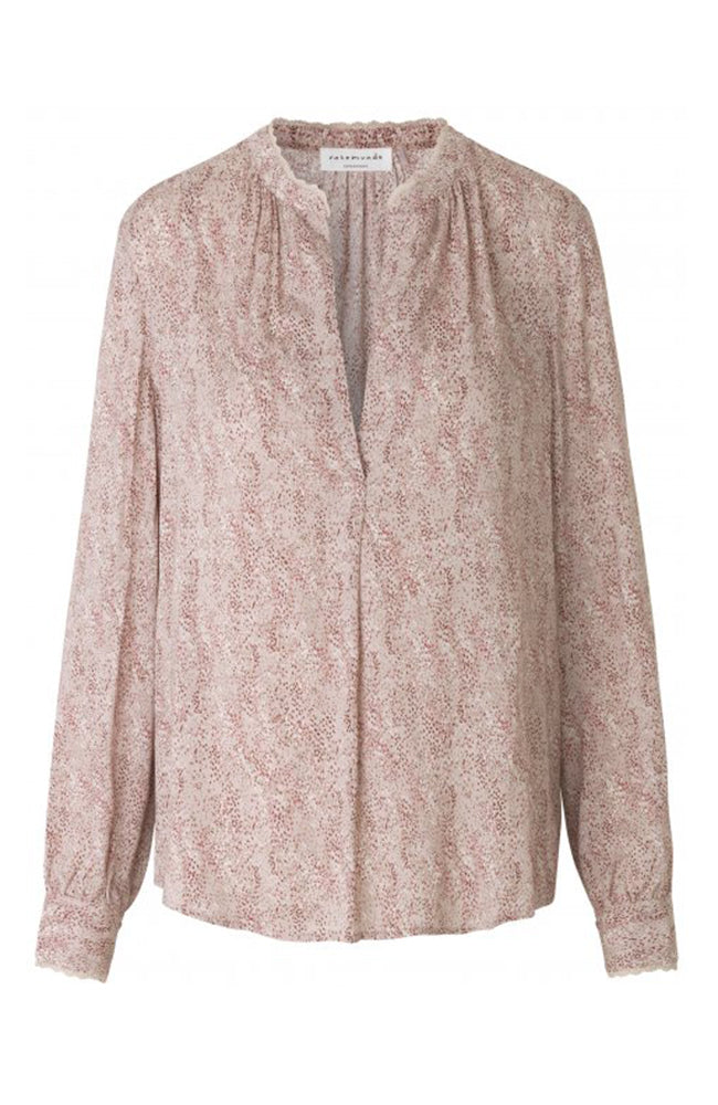 Rosemunde Long Sleeve V-Neck Blouse Printed