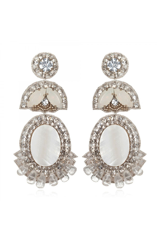 SUZANNA DAI Prague Drop Earrings Pendants d'oreilles