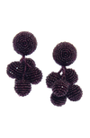 SACHIN & BABI Mini Coconut Earrings. Pendants d'oreilles