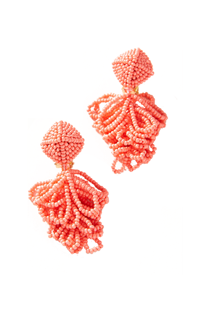 SACHIN & BABI Mini Lulu Earrings Melon Pendants d'oreilles