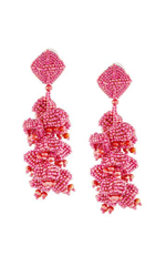 Sachin & Babi Grapes Earrings Pendants d'oreilles Clip or Post earrings.