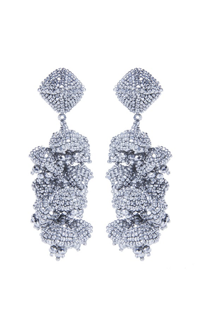 Sachin & Babi Grape Earrings Silver Pendants d'oreilles argent