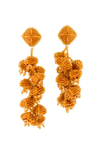 Sachin & Babi Grape Earrings Yellow Gold Pendants d'oreilles dories