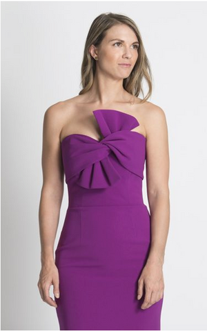 Lucian Matis Short Bow dress