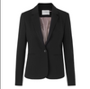 Rosemunde Fitted Blazer with an elegant fit. Veste à simple boutonnage