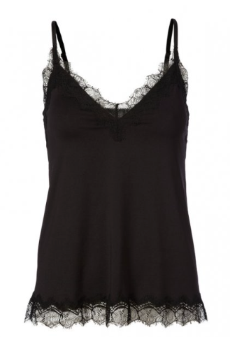 Rosemunde Billie Silk & Lace Cami