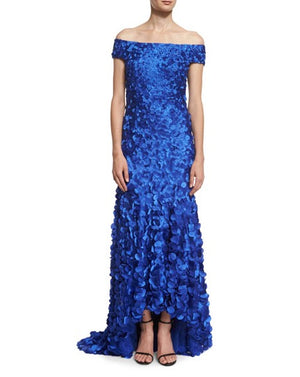 THEIA Gala Dress Evening Gown. Robe de bal designer