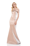 Theia designer gala gown mermaid dress. Robe de soirée sirène