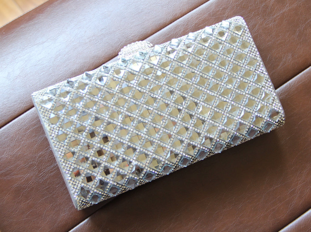 Jewel Stones Evening Bag. Pochette de soirée de bal.