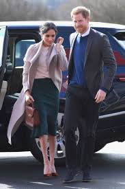 Meghan Markle Kace Skirt Jupe Prince Harry