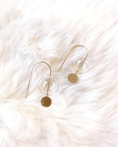 By Boe gold fill earrings