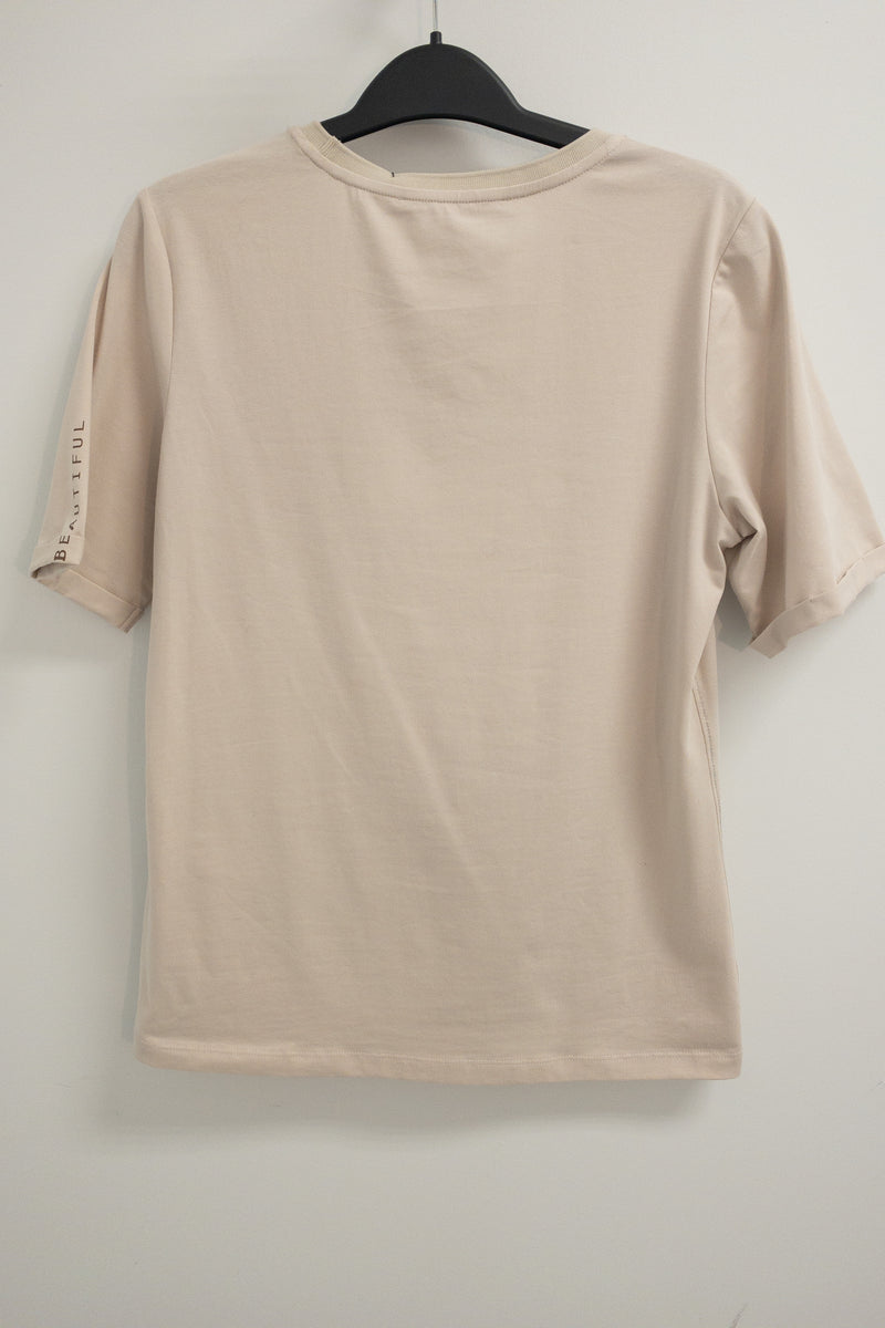 Le Comte Cotton T-shirt BEAUTIFUL