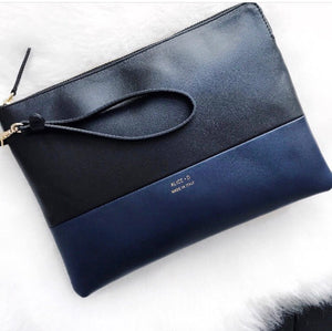 Leather Crossbody Clutch by Alice D. Milano