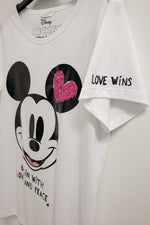 Princess Cotton T-shirt Mickey BEGIN WITH LOVE AND PEACE