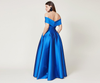 SACHIN & BABI Strapless Ball Gown with princess seams. Robe de soirée sans bretelles