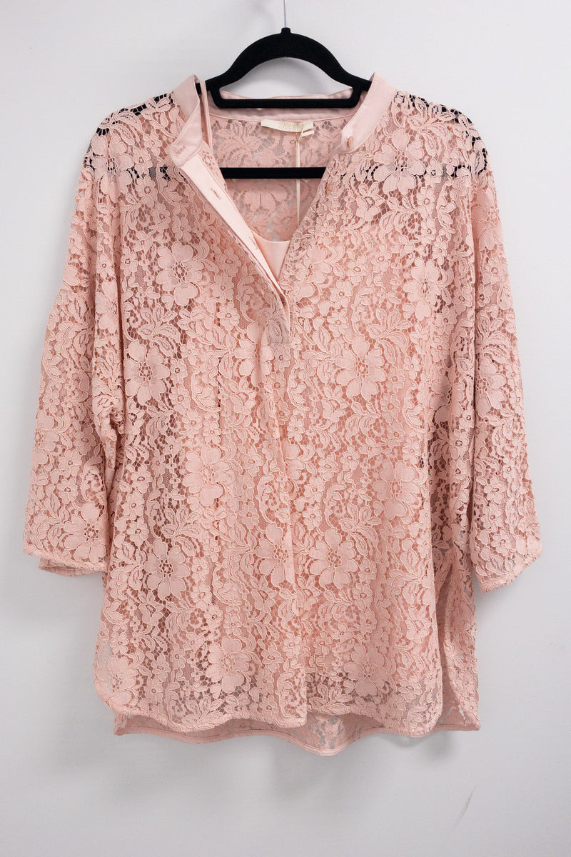 SEVENTY Lace Blouse with Under layer