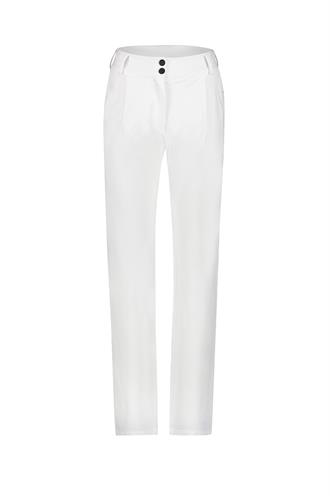 Pantalon Penn & Ink White Wide Leg Pants