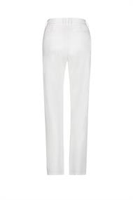Pantalon blanc Penn & Ink White Wide Leg Pants.
