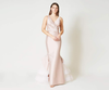 Chesterton Gown by SACHIN & BABI V-neck Mermaid Gown ruffle tulle train