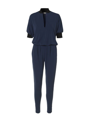 By Malene Birger - Edinno Jumpsuit in Blue. Combinaison Edinno en blue