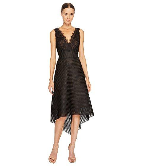 Black Cocktail dress robe noire by Marchesa Notte
