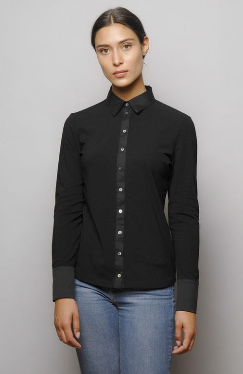 Max Volmary Long Sleeve Collard Shirt