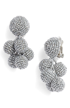 Designer SACHIN & BABI Mini Coconut Earrings Pendants d'oreilles