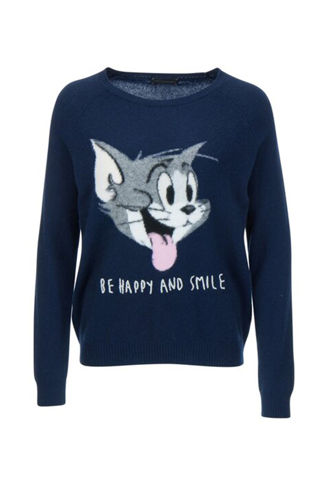 Princess Sweater Wool Cashmere Tom Be Happy and Smile