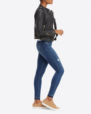 SPANX Distressed Jeans Denim Leggings au denim