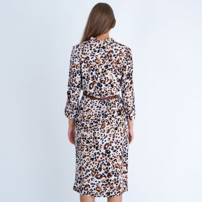 Riani Leopard Print Dress