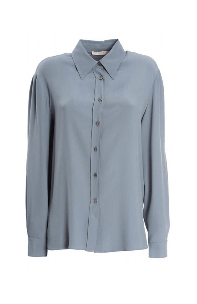 SEVENTY Long Sleeves Baby Blue Shirt