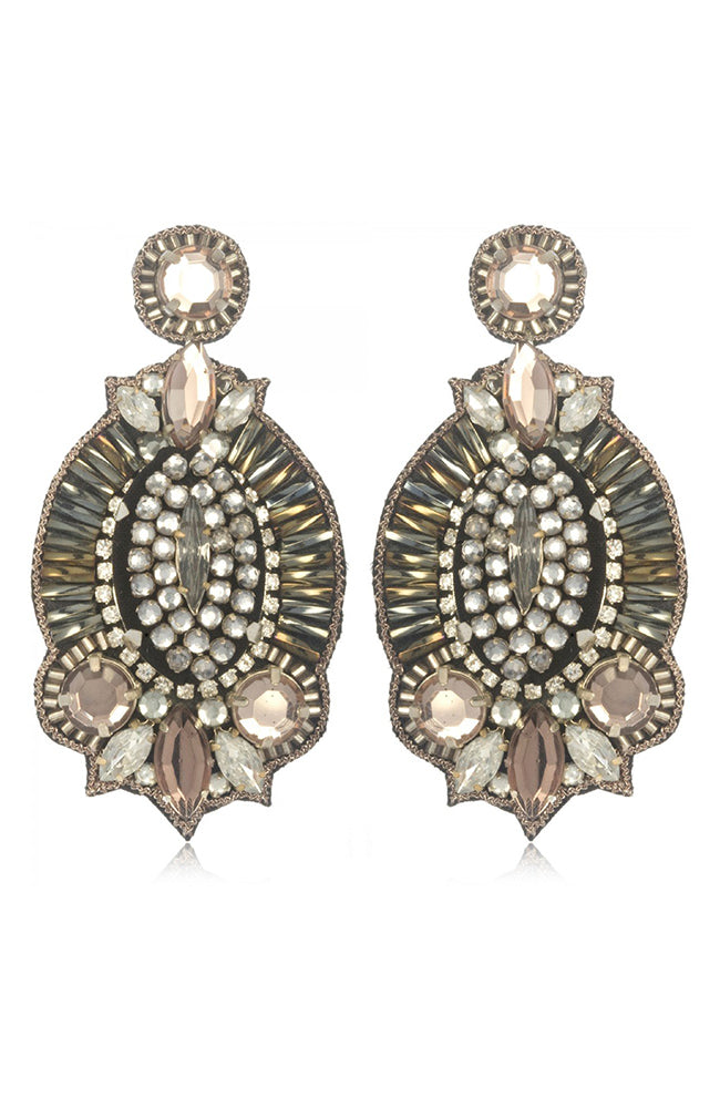 SUZANNA DAI Windsor Drop Earrings Pendants d'oreilles