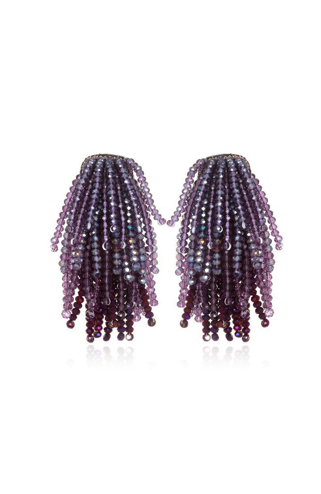 SUZANNA DAI Waterfall Earrings Boucles d'oreilles