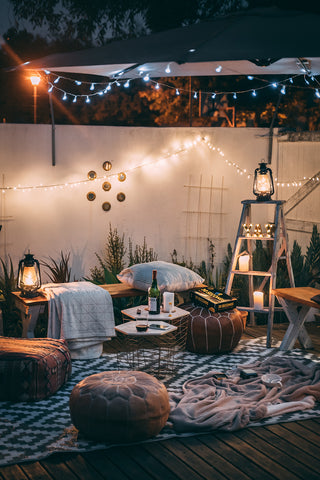 Easy Tips for the Perfect Bohemian Oasis I Cloth & Stitch