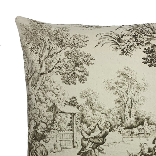 Beige Windermere Throw Pillow Cover