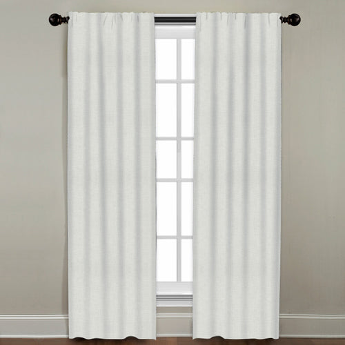 Solid Linen Window Panel